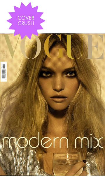 gemma ward vogue italia. Vogue Italia May 2007