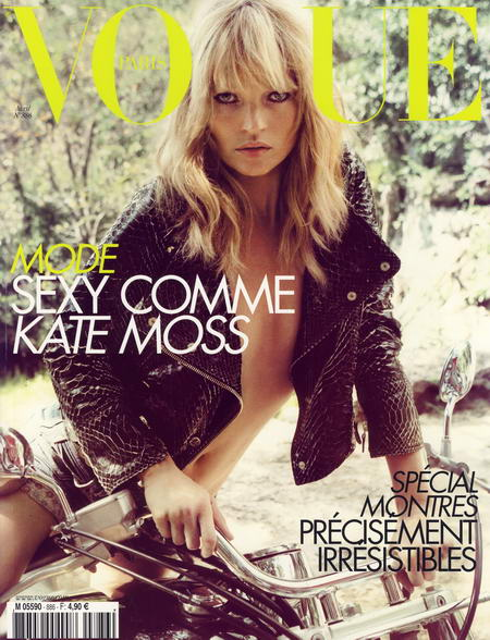 kate moss cover french vogue april